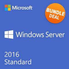 Product of the Month - Windows Server 2016 Standard with 5 RDS User CALs