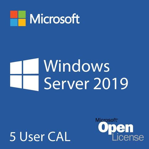 Microsoft Windows Server 2019 5 User CALs