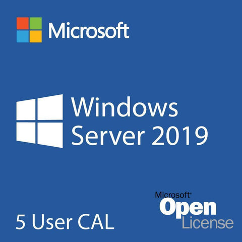 Microsoft Windows Server 2019 User CALs Retail Box 5 User CALs for GSA #3