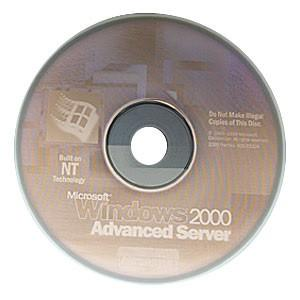 Windows Advanced Server 2000 Disc In Envelope