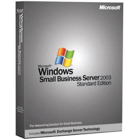Microsoft Windows Small Business Server 2003 Upgrade - 5 Device CALs - MyChoiceSoftware.com