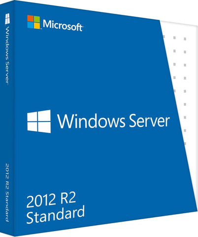 Microsoft Windows Server Standard 2012 R2 2 Processors Retail Box