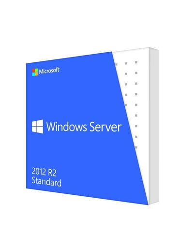 Microsoft Windows Server Standard 2012 R2 with 10 User CALs Retail Box.