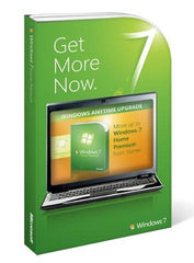 Microsoft Windows 7 Anytime Upgrade (Starter to Home Premium) - MyChoiceSoftware.com