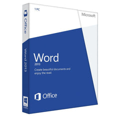 Microsoft Word 2013 Medialess Retail Box - MyChoiceSoftware.com