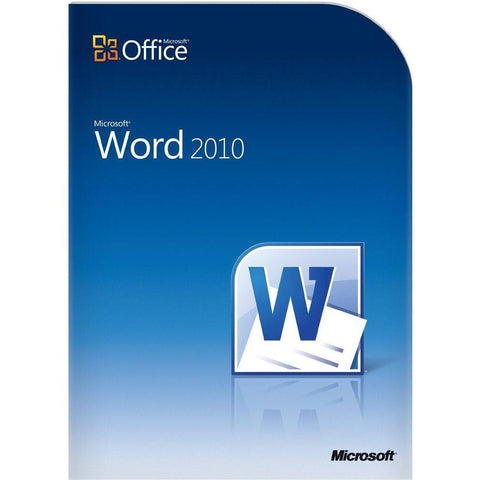 Microsoft Office Word 2010 Retail Box - MyChoiceSoftware.com