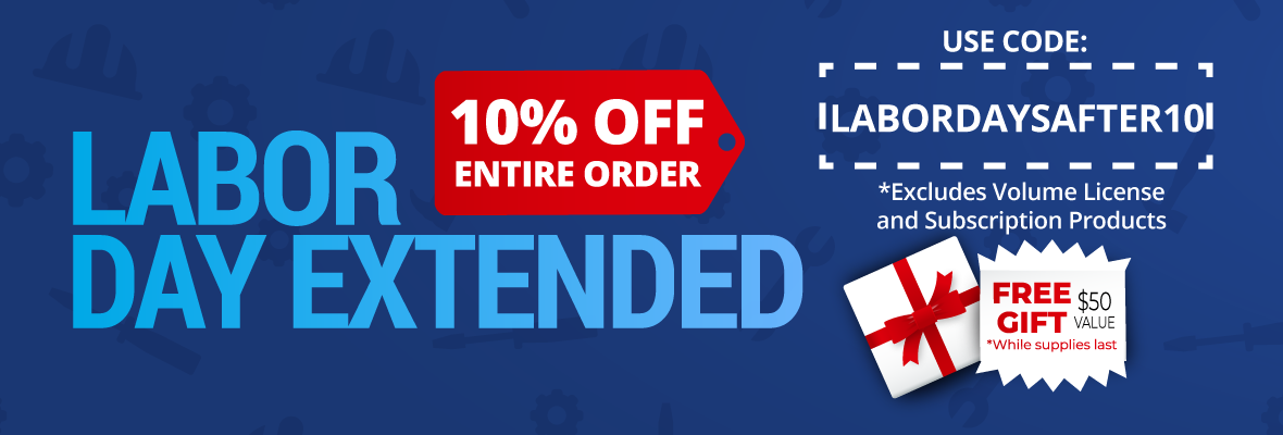Labor Day 2019 Extended - 10% Header