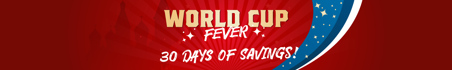 World Cup Fever Header