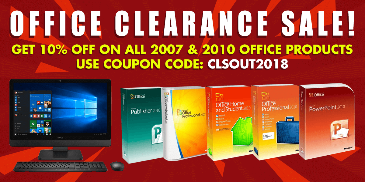 Microsoft Office 2007 & 2010 Promotion Header