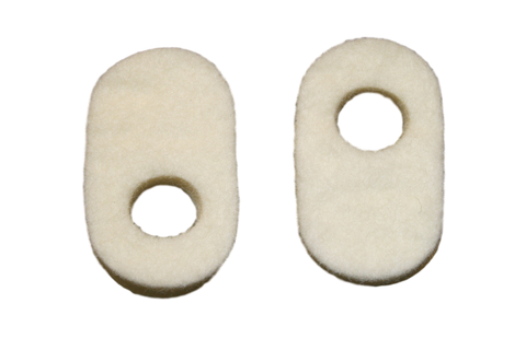 "Special! C-4 Corn Pads- 1 3/8"" x 3/4"" x 1/4"""