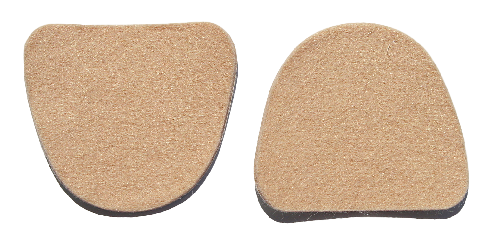 "Special! Metatarsal Pads- 1/8"" Adhesive Flesh Colored Felt (20159)- 100 pieces"