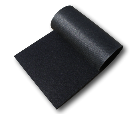"Special! 3/16"" Polyester Topped Natural Open Cell Sponge Rubber"