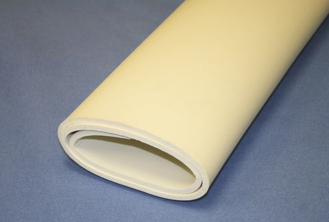 "21"" x 36"" White Orthopedic IP Foam Sheet"