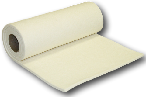 "1/4"" Thick White Orthopedic Felt Rolls- 12"" wide x 4 FEET Long (900637)"