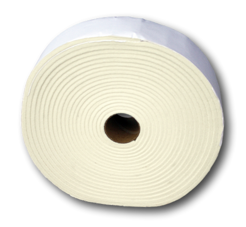 "Special ! 1/4"" Thick White Orthopedic Felt"