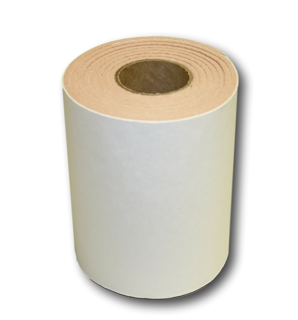 "Special! 3/16"" Thick Flesh Colored Felt Rolls with Medical Grade Adhesive- 6"" wide x 2.5 yds Long (962596)"
