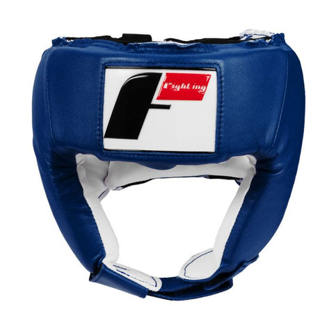 Fighting Sports Competition Open Face Headgear Head Gear Blue