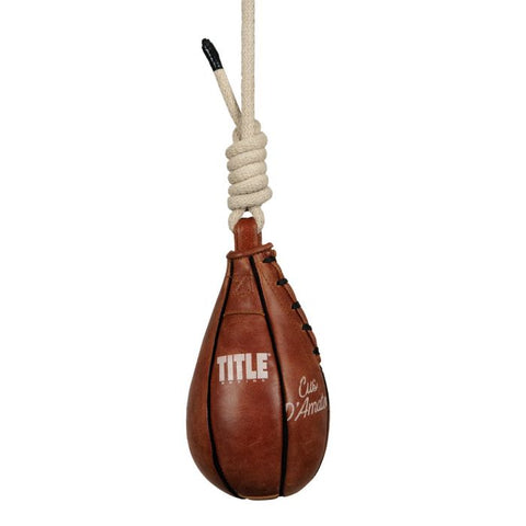 Title Boxing Cus D'Amato Maize Slip Ball Bag