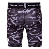 Tatami Fightwear Vale Tudo Grappling Fight Shorts Black & Grey Camo