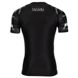 Tatami Fightwear Rival Black & Camo Short Sleeve Rash Guard Rashguard