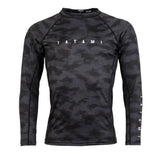 Tatami Fightwear Standard Edition Black Digital Camo Rash Guard Rashguard
