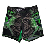 Booster Fight Gear Pro Shield High Cut MMA Shorts Green