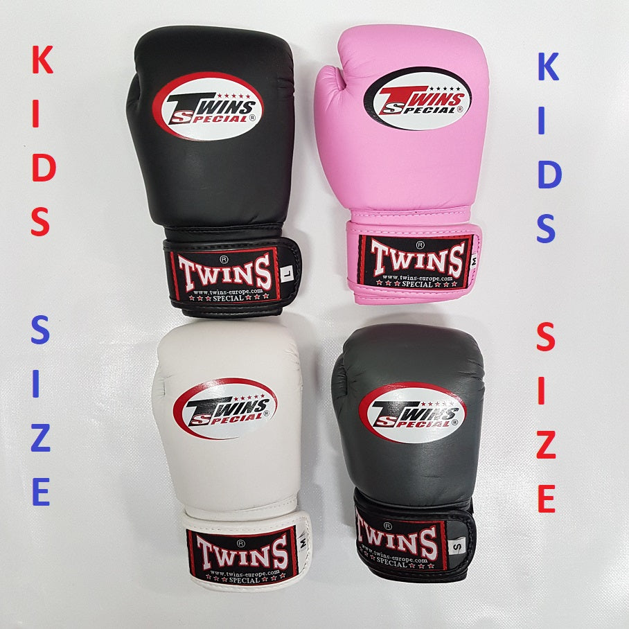 Twins Special BGVS-3 Kids/Youth Muay Thai Boxing Gloves (Various Colours)