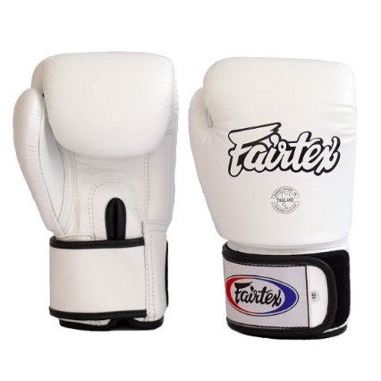 Fairtex All Purpose Tight Fit Gloves BGV1 White