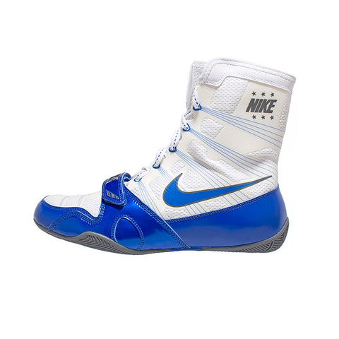 Nike Boxing HyperKO Shoes Boots White/Blue/Grey