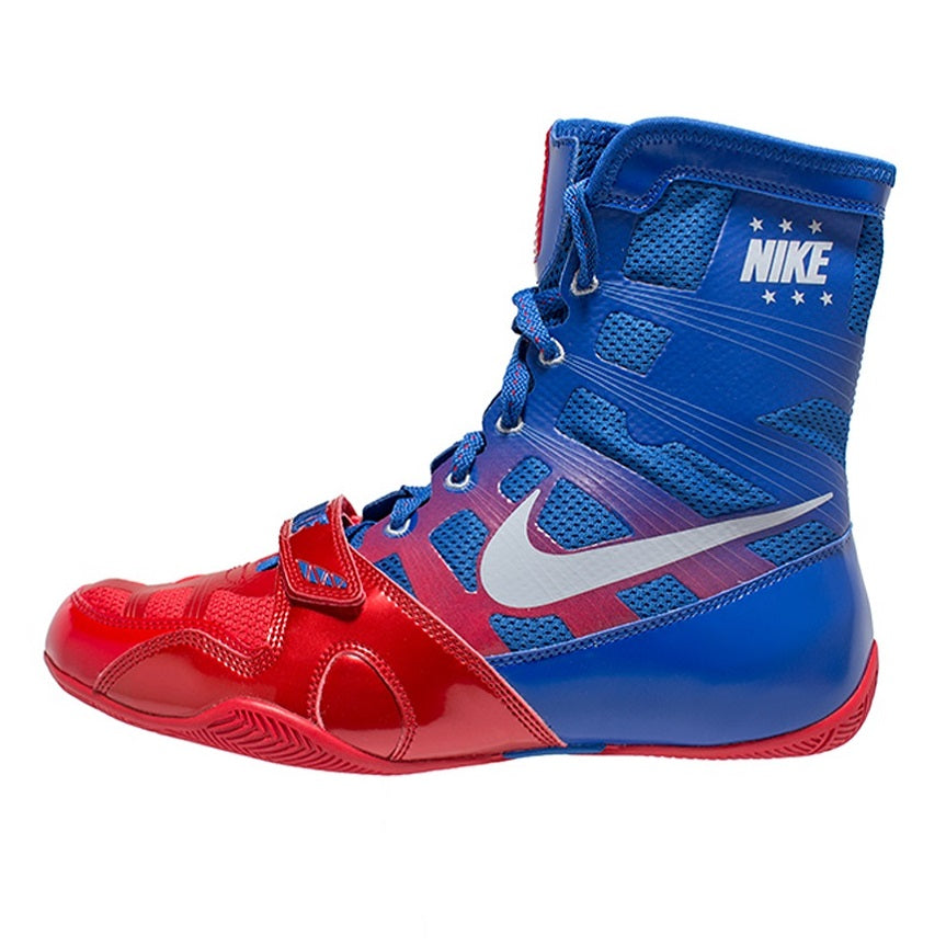 Nike Boxing HyperKO Shoes Boots Blue/Red
