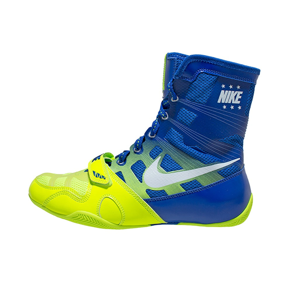 separation shoes 9e257 a0605 Nike Boxing HyperKO Canada Shoes Boots Volt Green Blue Edmonton – The  Clinch Fight Shop