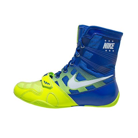 Nike Boxing HyperKO Shoes Boots Volt Green/Blue