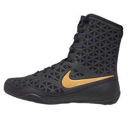 Nike Boxing KO Shoes Boots Black/Gold