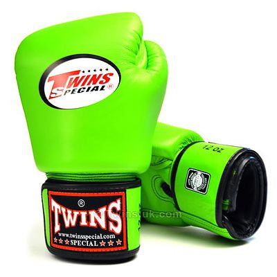 Twins Special Canada Green Boxing Gloves Muay Thai Gear Edmonton