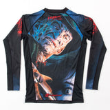 Fusion Fight Gear A Nightmare on Elm Street Rashguard Rash Guard