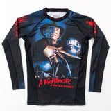 Freddy Krueger Rash guard edmonton A Nightmare on Elm Street BJJ Rash Guard