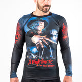Fusion Fight Gear A Nightmare on Elm Street BJJ Edmonton Rashguard Rash Guard