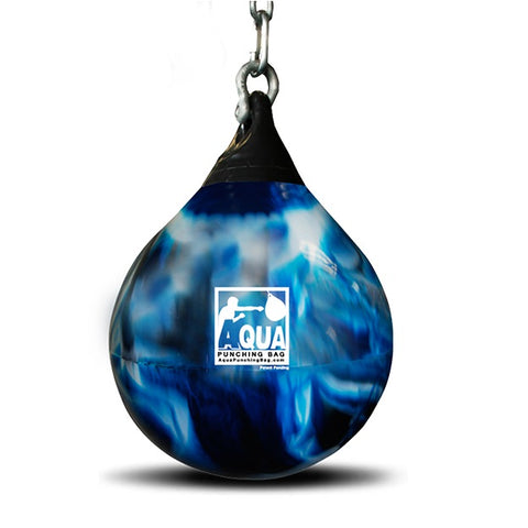 Aqua Training Water Heavy Punch Bag Blue Various Sizes