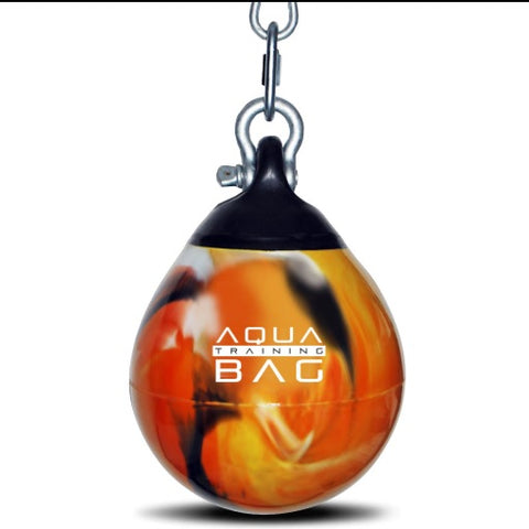 Aqua Training Bag Canada Water Heavy Punch Bag Fireball Orange Various Sizes