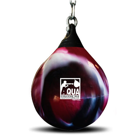 Aqua Training Water Heavy Punch Bag Red (190lbs)