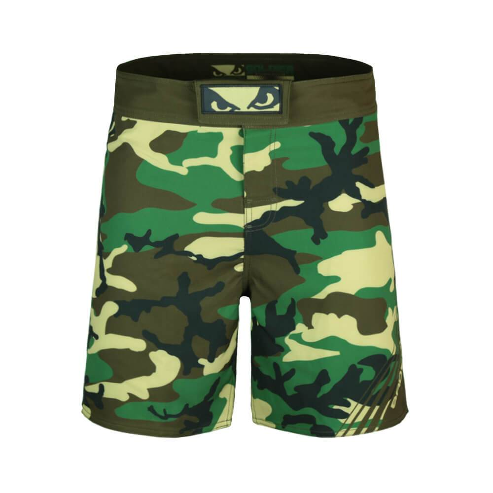 Bad Boy Camo MMA Training Fight Shorts Canada