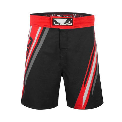 Bad Boy Pro Series Advanced MMA Shorts Black/Red (only XS left)