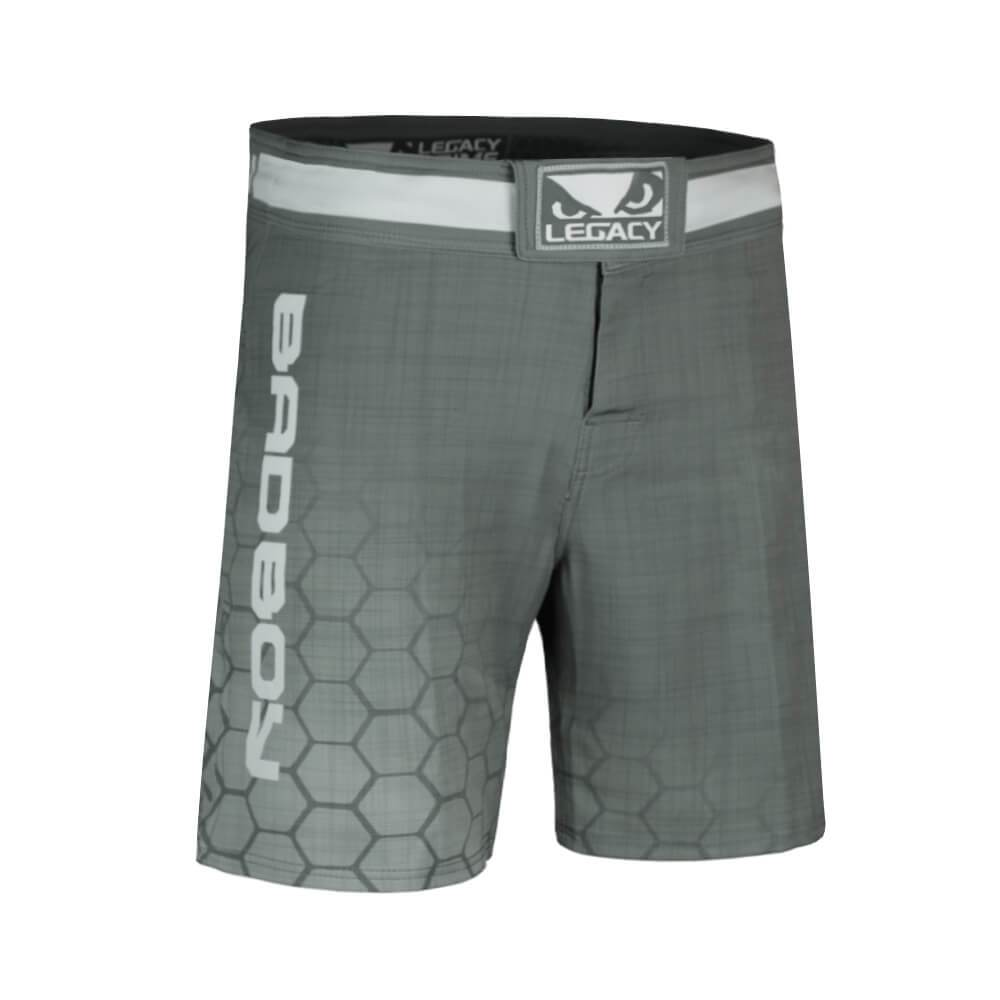 Bad Boy MMA Gear Edmonton Legacy MMA Shorts Grey