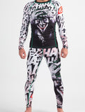 Fusion Fight Gear Batman The Killing Joke Joker Spats Pants Compression