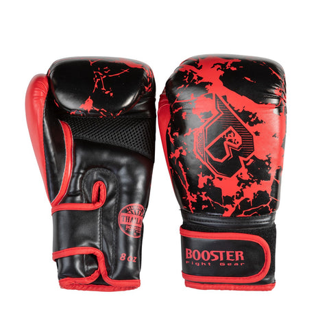 Booster Fight Gear Marble Red Kids Youth Boxing Gloves