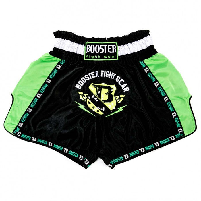 Booster Fight Gear TBT Pro 4.6 Muay Thai Shorts Black-Green