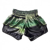 Booster Fight Gear Chaos 1 Green/Black Muay Thai Kickboxing Shorts Edmonton