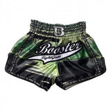 Booster Fight Gear Chaos 1 Green/Black Muay Thai Kickboxing Shorts Canada