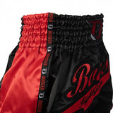 Booster Fight Gear Pro Slugger Red Muay Thai Kickboxing Shorts