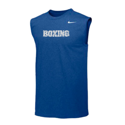 Nike Boxing Dri-Fit Performance Sleeveless Tank Blue